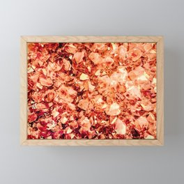 Amber Framed Mini Art Print