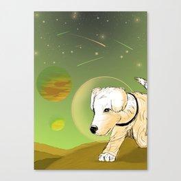 Pup Explorer Canvas Print