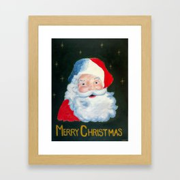 The Jolly Old Elf Framed Art Print