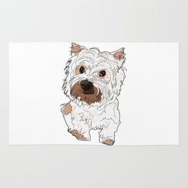 Lolo, West Highland Terrier Rug
