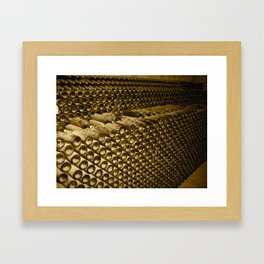 Vintage Wine Framed Art Print