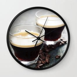 Coffee. Coffee Espresso. Cup Of Coffee Wall Clock