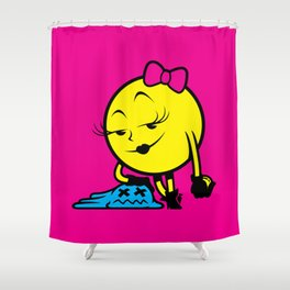 Ms. Pac-Man Shower Curtain