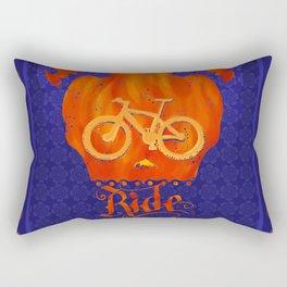 Ride like hell Rectangular Pillow