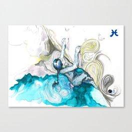 Poised Pisces Canvas Print