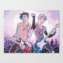 Punk Rock Stucky Canvas Print