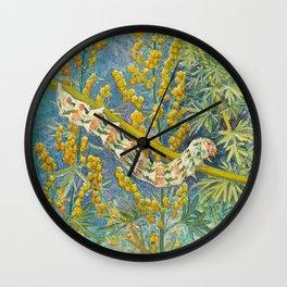 Cucullia Absinthii Caterpillar Wall Clock