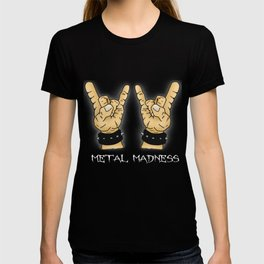 Metal Madness Horns T-shirt