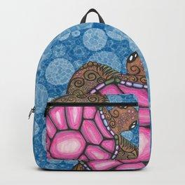 Bubblegum Pink Sea Turtle Backpack