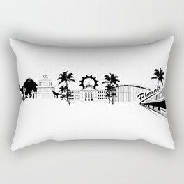 Phoenix Skyline Rectangular Pillow