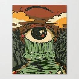 Toxic Tears Canvas Print