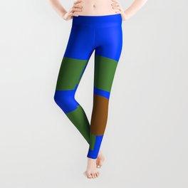 Abstract Pepe Leggings