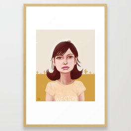 Runnin' Down A Dream Framed Art Print