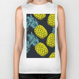 Pineapples Colors Biker Tank