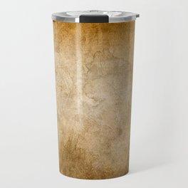 Abstract Cave Travel Mug