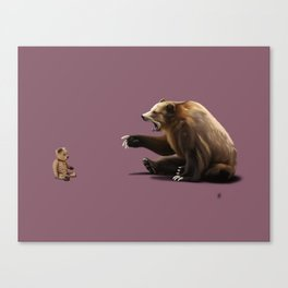 Brunt (Colour) Canvas Print