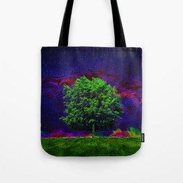 Warped Nature Tote Bag