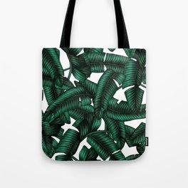 Banana leaves pattern. Tote Bag