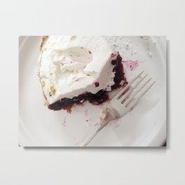 Boysenberry Pie Metal Print