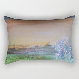 The Evening Music of the Pooka. Rectangular Pillow