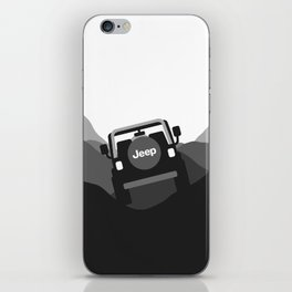 Jeep 'Driving' Black iPhone Skin