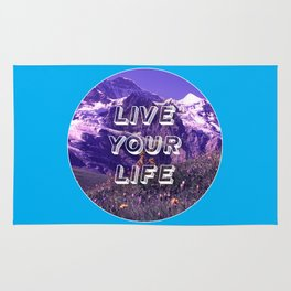 Live Your Life Rug