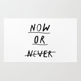 Now or Never Rug