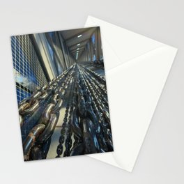 Chained Elevator Shaft Stationery Cards