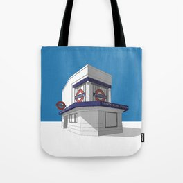 Trinity Road (Tooting Bec) Tote Bag