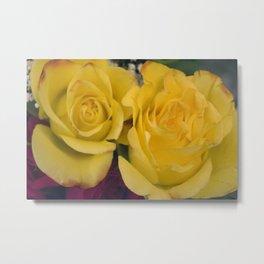 Valentine's Day Roses 10 Metal Print
