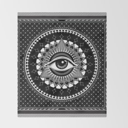 Eye of Providence Throw Blanket
