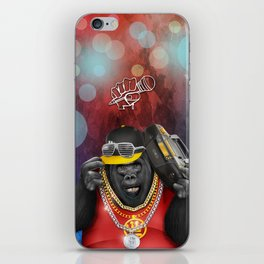 Rapper of the apes iPhone Skin