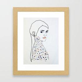 Satisfied Framed Art Print