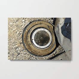 Digital Fuel Metal Print