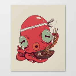 Spicy Ramen Canvas Print