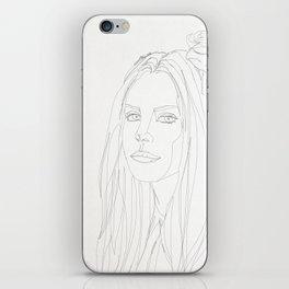 STAR COLLECTION | LANA DELREY iPhone Skin