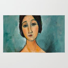 "Amedeo Modigliani ""Christina"" Rug"