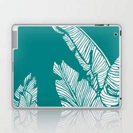 Banana Leaves on Teal #society6 #decor #buyart Laptop & iPad Skin