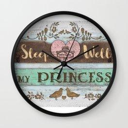 My Princess Wall Clock
