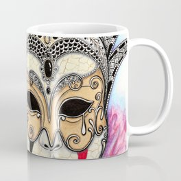 Máscara Veneciana Coffee Mug