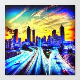 Good Morning Atlanta Canvas Print