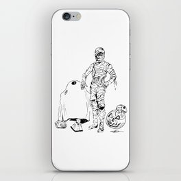 These Aren't The Droids You're Looking For? Inktober Drawing iPhone Skin