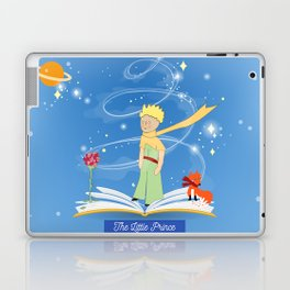 The Little Prince in the Fairy Tale Book Laptop & iPad Skin