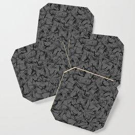 Modern Zings and Zags Pattern Coaster