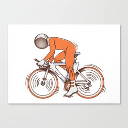 All I wanna do is bicycle Canvas Print
