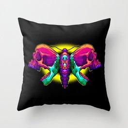 Death's Ahead - Wild Throw Pillow