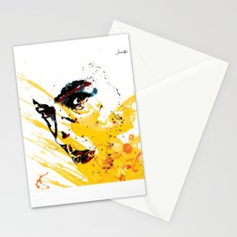 Street art yellow painting colors fashion Jacob's Paris Stationery Cards