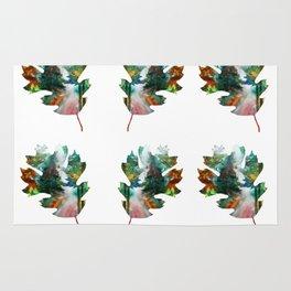 Autumn Leaf Art Rug