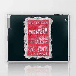 Lab no. 4 storm will change you life Laptop & iPad Skin