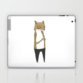 Fox and milk. Laptop & iPad Skin